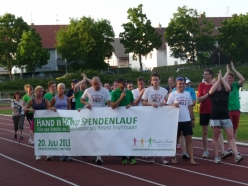 Hand-in-Hand Spendenlauf